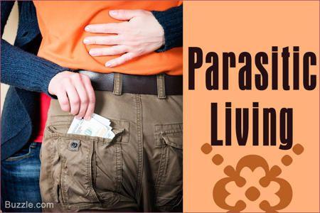 Sociopath Characteristics- Parasitic Living