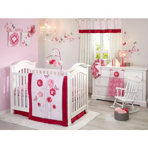 "NoJo Butterfly Bouquet 4 Piece Crib Set - NoJo - Babies ""R"" Us"