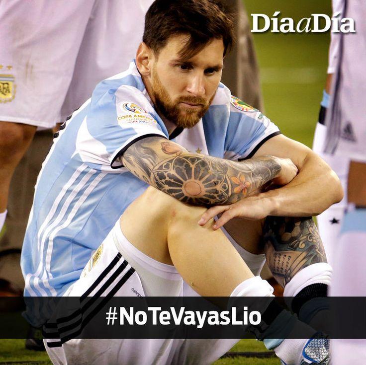 Carta a Messi: Si vos dejás de jugar, dejamos de jugar todos | Día a Día