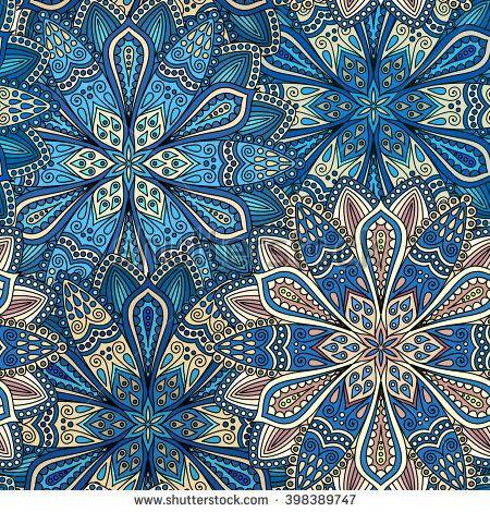 Boho Flower Pattern. Boho flower seamless. Boho flower design, boho flower abstract. Blue boho flower, brown boho flower. Vector boho flower. Boho flower mandala. Unusual boho flower. Boho flower pic