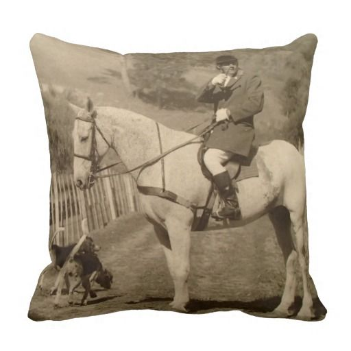 Fox Hunt 1960 & Pillow