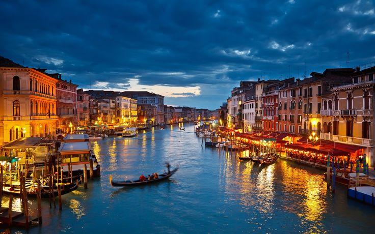 Eso es la ciudad de Venecia.