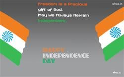 Happy Independence Day With Freedom Quotes HD Wallpaper,National Flag HD Wallpaper,National Day Of India HD…