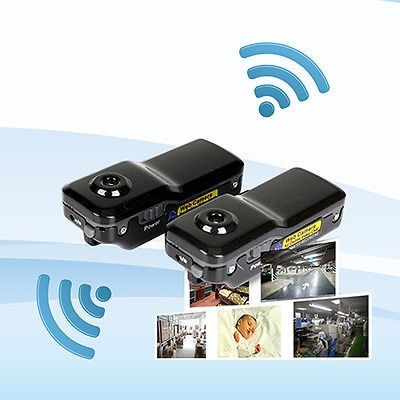 WIFI IP WIRELESS SPY CAM REMOTE SURVEILLANCE DV SECURITY MICRO CAMERA DECOROUS