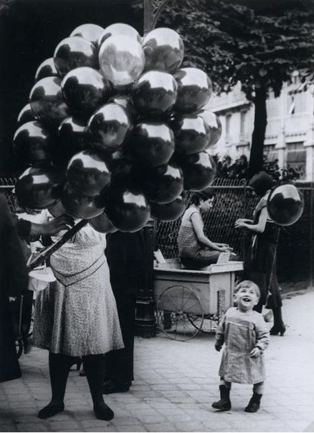 The Balloon Merchant by Brassai, 1931