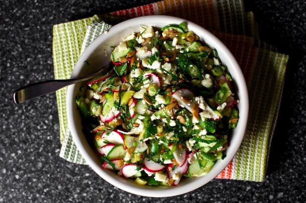 Feta, Met and Feta salad on Pinterest