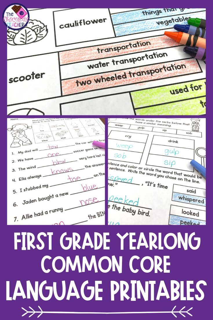 Are You Looking For First Grade Grammar Printables For The Whole Year This Unit Has You Covered Word Work Stations Grammar And Vocabulary Grammar Worksheets [ 1102 x 735 Pixel ]