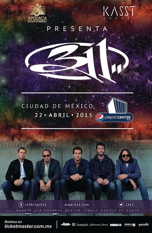 311 ❤️❤️❤️  22/04/2015 México City