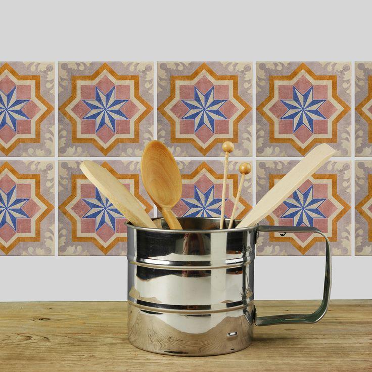 Stickerfliesen von cuadros lifestyle - Mehr als nur ein Lebensgefühl  Die geschmackvollen Motive peppen beliebig langweilige Fliesen und wirklich jede Wand im Handumdrehen wieder auf.