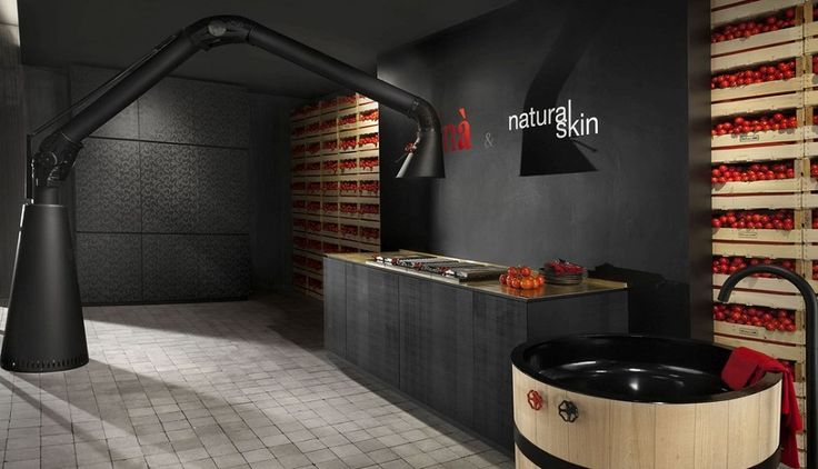 MINACCIOLO Discover Natural Skin - a practical kitchen by Minacciolo. #Madeinitaly #kitchen Find out more here www.gilusi.com