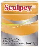 Sculpey III Polymer Clay, Gold, 2 ounce bar. S302 1086