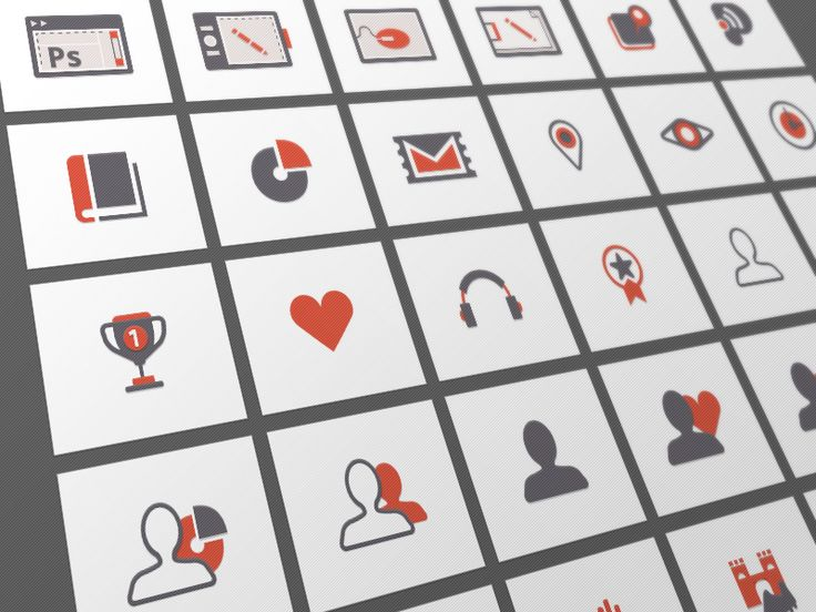 32 Flat Vector Icons