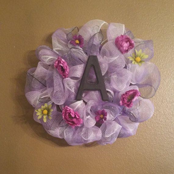 Красивый фиолетовый Венок