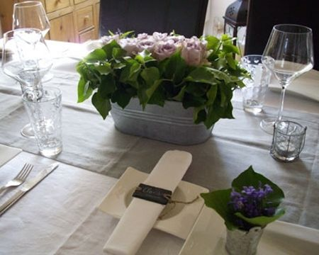 deco table campagne