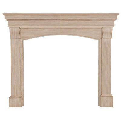 Pearl Mantels The Blue Ridge Fireplace Mantel Surround Finish: