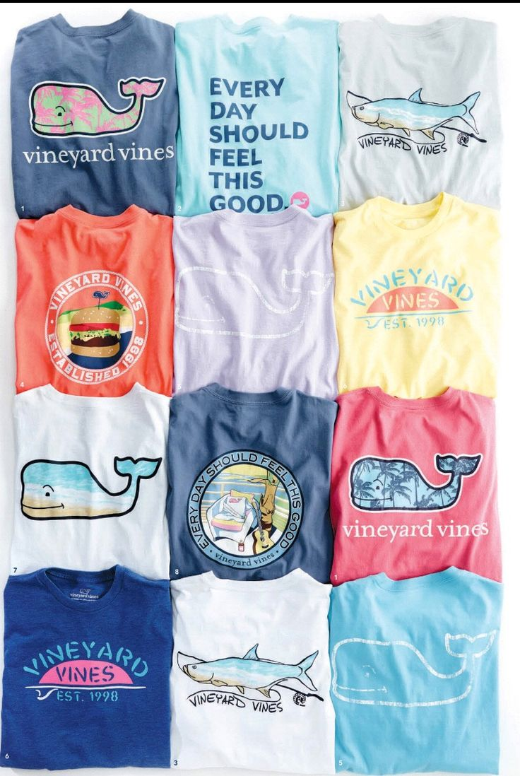 #VineyardVines Preppy T's