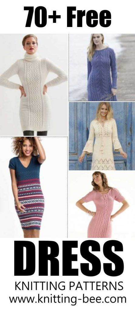 70+ Vestido Knitting Pattern Downloads para LIVRE