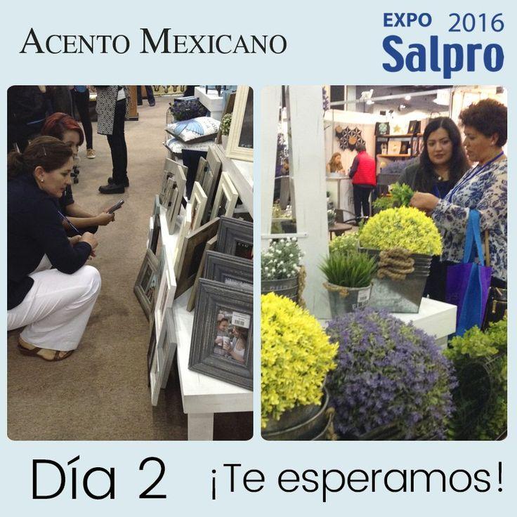 Día 2 en la #Expo Espacio Sede del Regalo, Centro Banamex. Ven a conocer nuestros #NuevosProductos  @GrupoSalpro