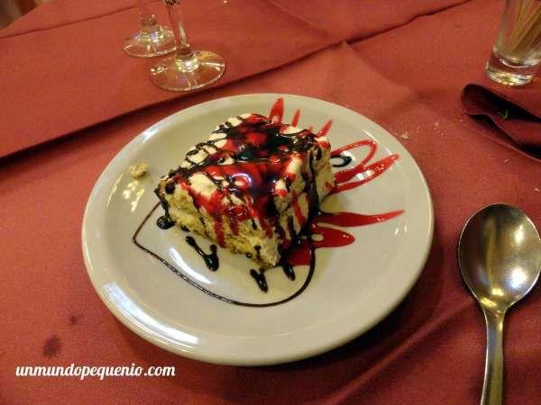 Tiramisu de La Estancia #Ushuaia #foodie #Patagonia #Argentina #food