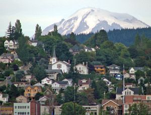 Bellingham, Washington - small city between Seattle, WA and Vancouver, BC