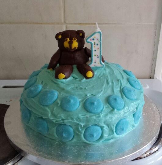 My first birthday cake x