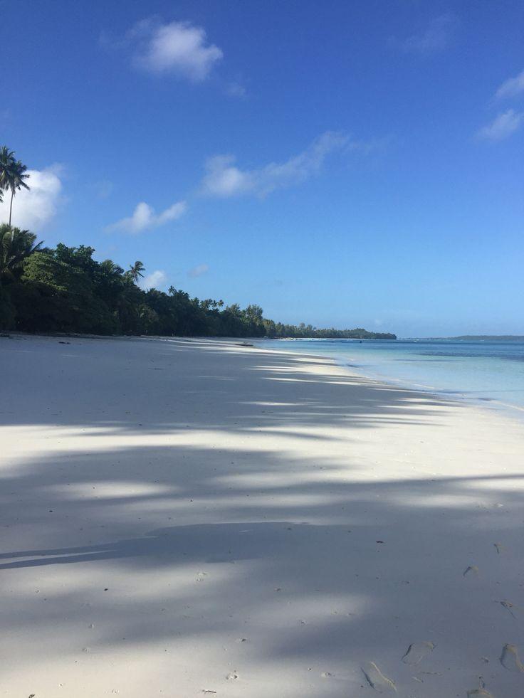 Pasir putih beach Tual Maluku Tenggara