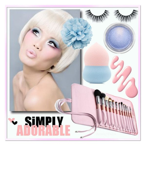 Pastel Beauty! by whirlypath on Polyvore featuring beauty, Forever 21, MAC Cosmetics and Gucci