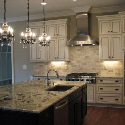 Raleigh kitchen photos brick backsplash design ideas for Kitchen units made of bricks