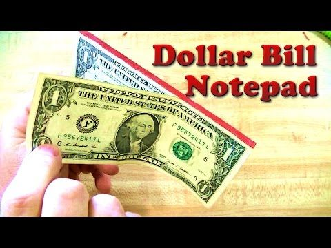 How To Make Money Pads Fast And Easy – Dollar Bill…