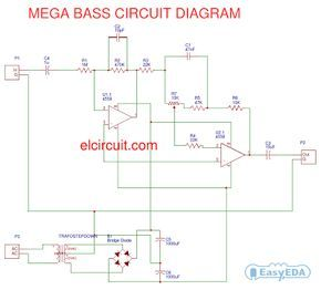 9 best proyectos que debo intentar images on pinterest the megabass circuit is a modified baxandall tone control with no bass cut and no treble control it boosts frequencies from about 30hz to 160hz can boost fandeluxe Image collections