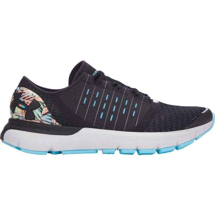 Under Armour Women's SpeedForm Europa Record-Equipped Running Shoes, Black