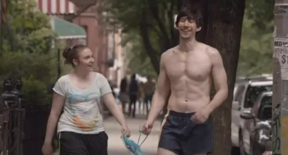 Me & my love of fictional men...Adam Driver, currently playing Adam Sackler on HBO's 'GIRLS'.  <3