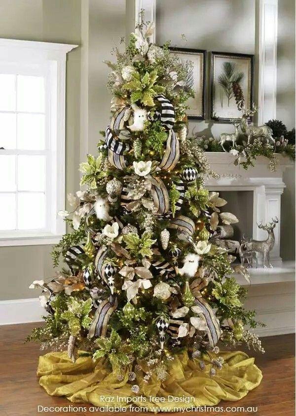 Mejores 219 imgenes de Arbol Navideo en Pinterest Navidad