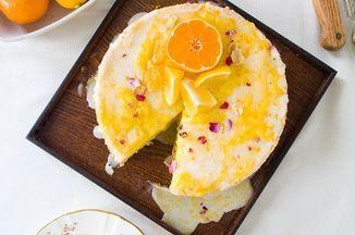 Olive Oil Chiffon Cake with Meyer Lemon Curd Recipe on Food52 recipe on Food52