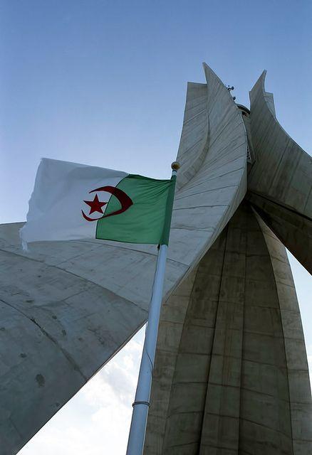 Algeria Flag Bearer