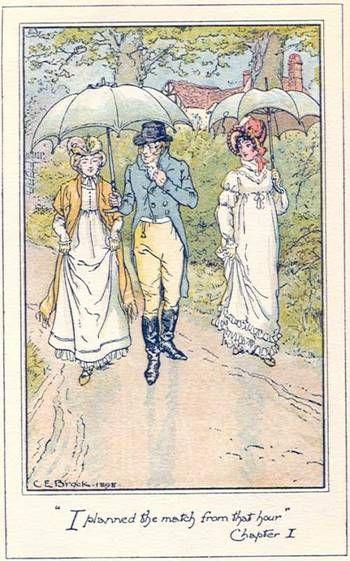 705 Best Jane Austen Illustrated Images On Pinterest