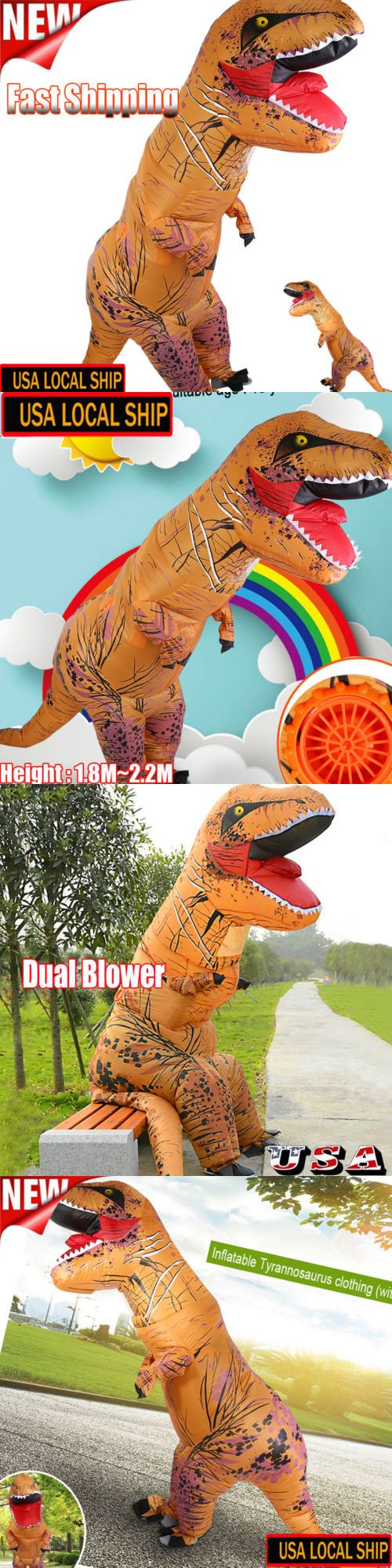 Unisex 86207: 2017 Inflatable Dinosaur T Rex Costume Fantasia Adult Halloween Cosplay Costume -> BUY IT NOW ONLY: $46.82 on eBay!
