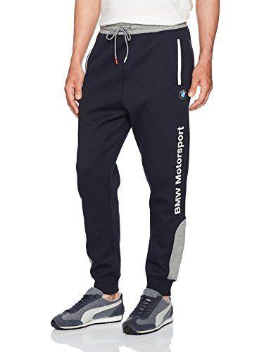 PUMA Men's BMW Motorsport Sweat Pants, Team Blue, Small PUMA