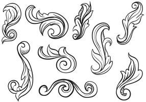 Free Scrollwork Vectors | Engraving art, Leather tooling ...