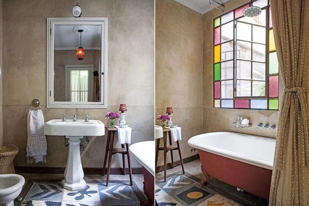 Oda al mosaico: 6 versiones de este clásico que nos encanta Estos singulares azulejos calcáreos aparecieron debajo del piso en medio de la reforma de la casa. / Archivo LIVING