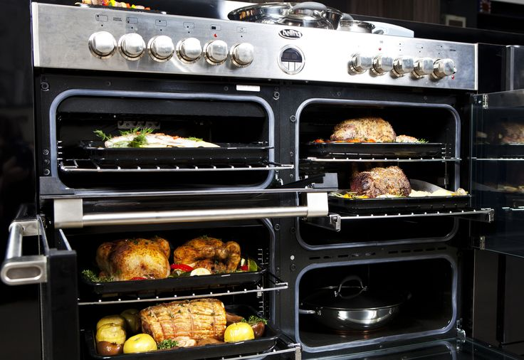 Enjoy the benefits of multi-cavity cooking & baking with the Sterling range of ovens from Belling. Each cavity can be independently controlled for different times, temperatures and functions. Feed an army with just ONE Belling range cooker.