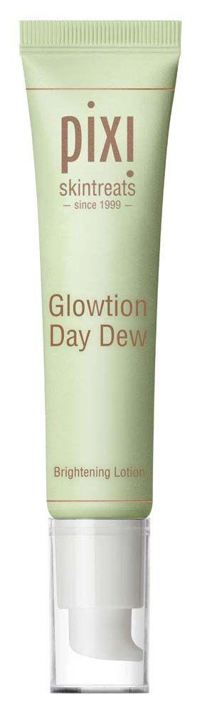 Pixi Glowtion Day Dew Leichte Feuchtigkeitspflege mit beruhigender Wirkung; kaschiert Unebenheiten und lässt den Teint von innen heraus strahlen.