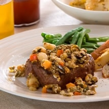 Macadamia and Olive Crusted Beef Fillet