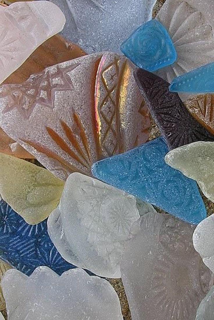 Rare Sea Glass #beach