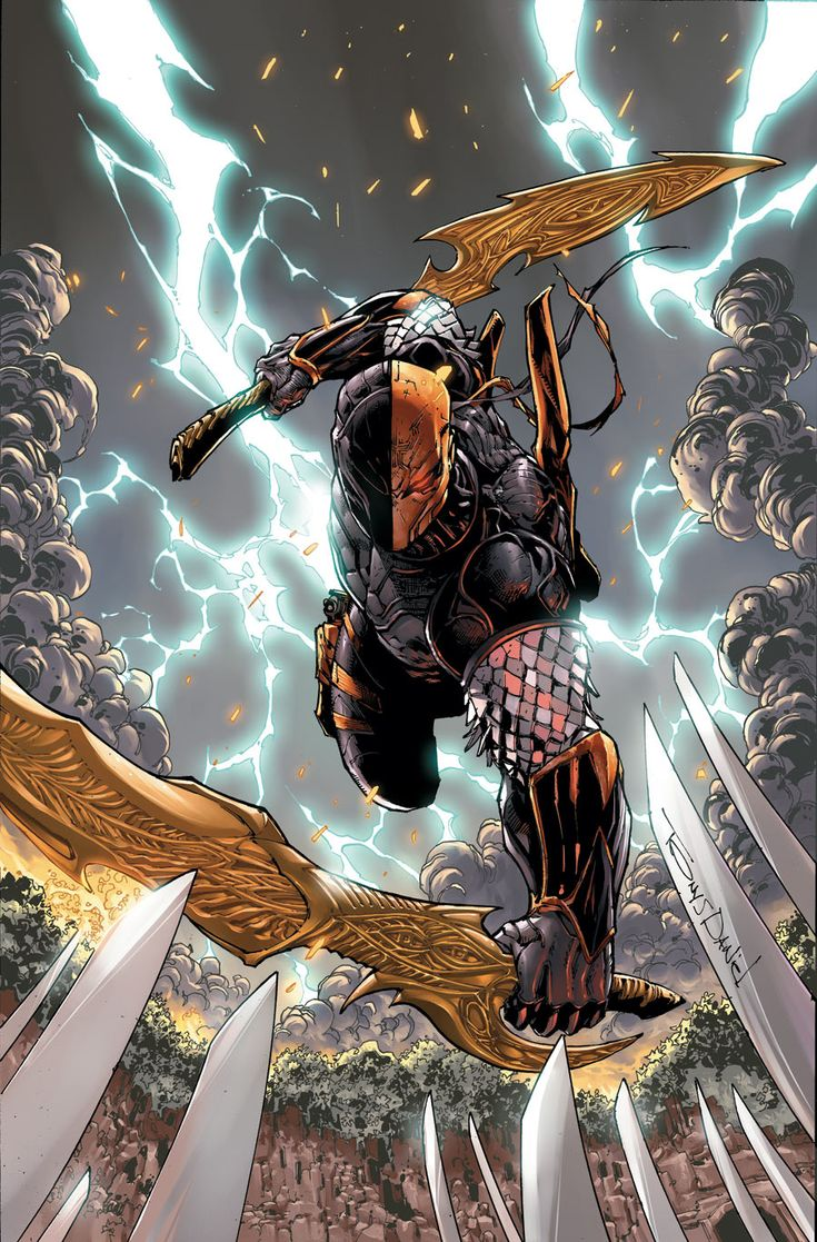 Deathstroke by Tony Daniel
