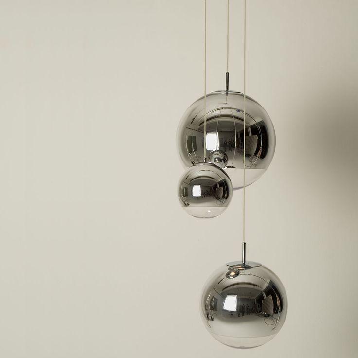 Tom Dixon - Mirror Ball Pendelleuchte fûr den Esstisch (3x)