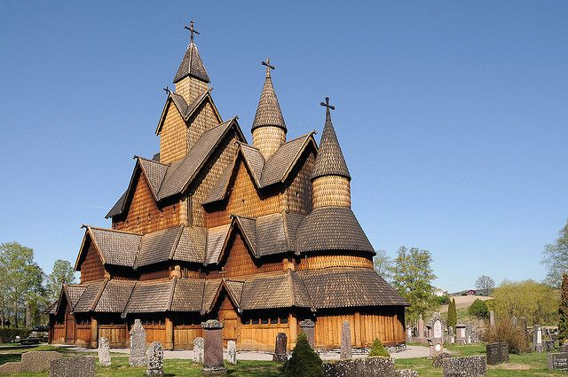 Top 10 Tourist Attractions in Norway-----#3: Heddal Stave Church