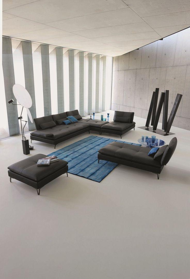 ♂ Modern minimalist design interior Roche Bobois Collection Printemps été 2013