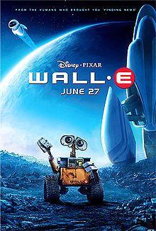 Wall -E (USA 2008)  dir. Andrew Stanton   Pixar, el nuevo Rey Midas de la animación, no escatima en esta cinta nada de la magia a la que y...