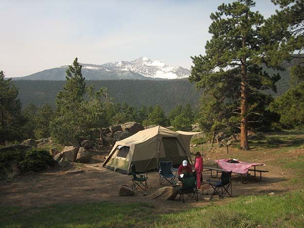 Moraine Park Campground – Estes Park | Best Campgrounds in Colorado | Enjoy Nature with the Best Outdoors Spots - Where To Go When Camping | Survival Life http://survivallife.com/best-campgrounds-in-colorado/